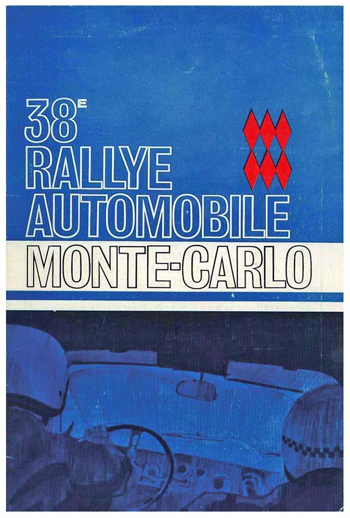 RALLYE MONTE-CARLO 1969