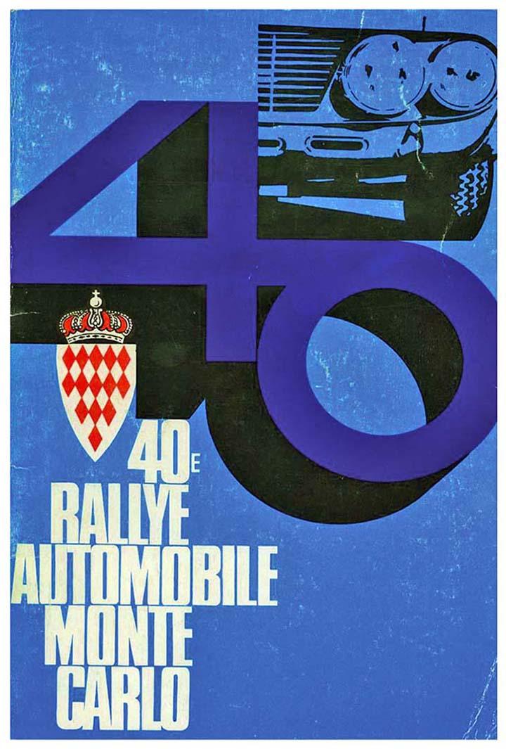 RALLYE MONTE-CARLO 1971