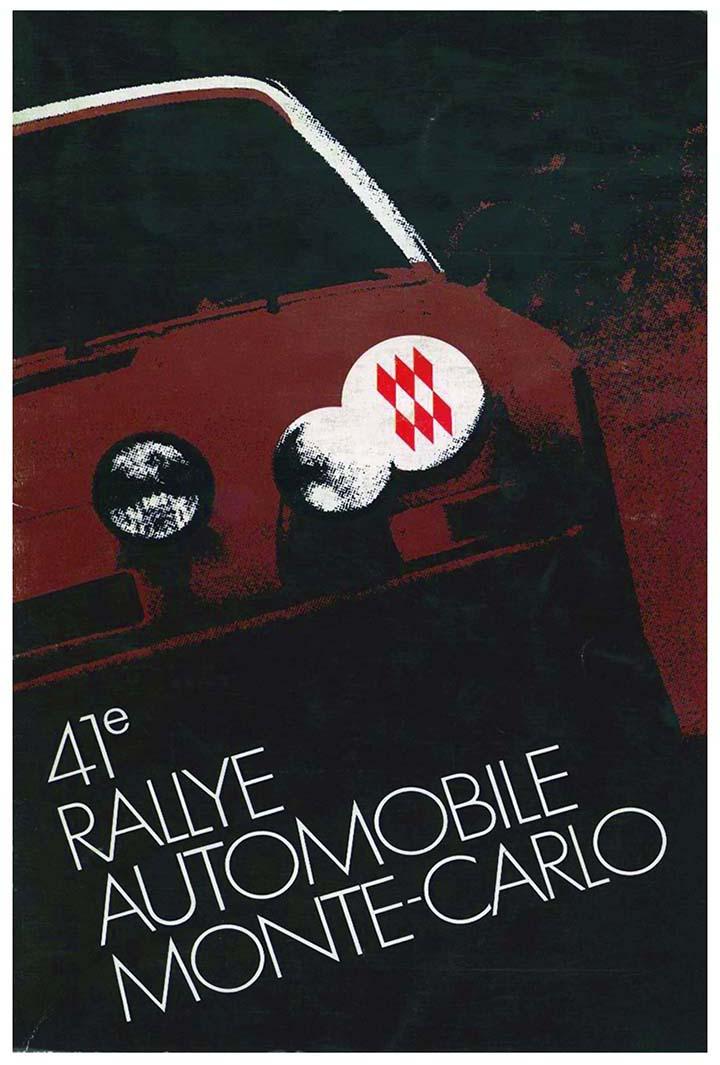 RALLYE MONTE-CARLO 1972
