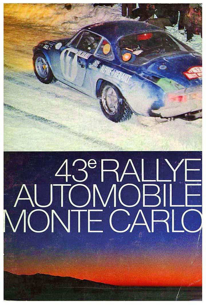 RALLYE MONTE-CARLO 1974
