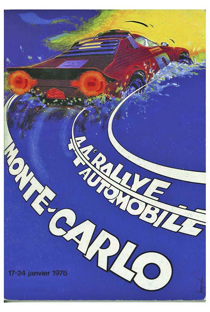 RALLYE MONTE-CARLO 1976