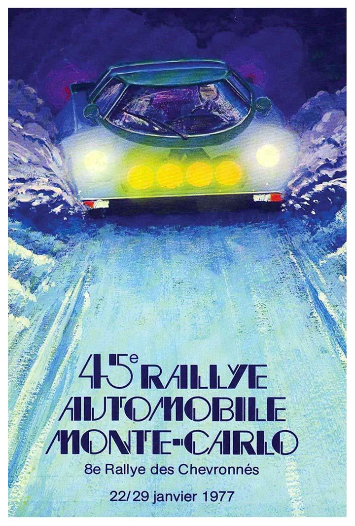 RALLYE MONTE-CARLO 1977