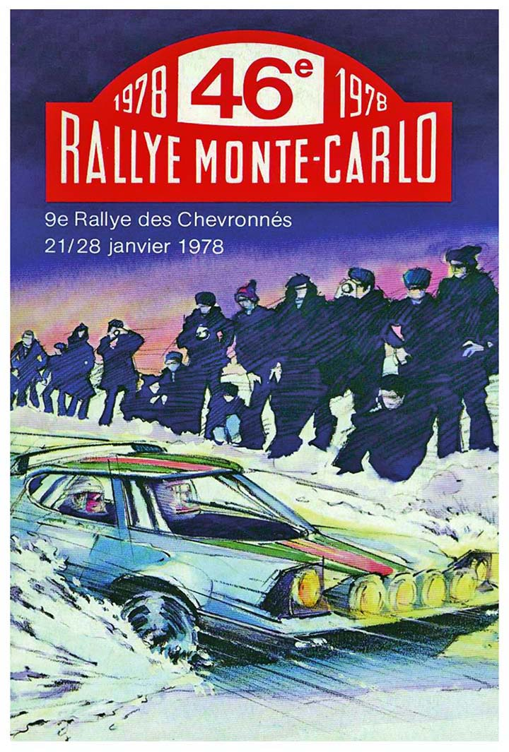 RALLYE MONTE-CARLO 1978
