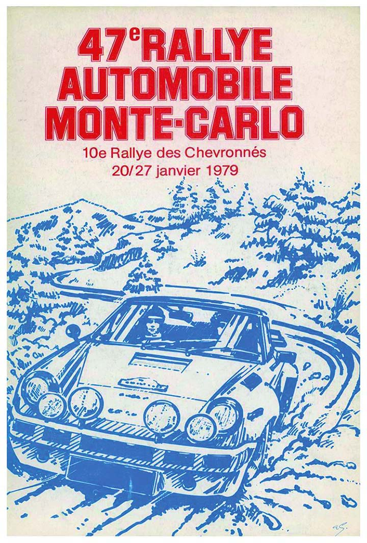RALLYE MONTE-CARLO 1979