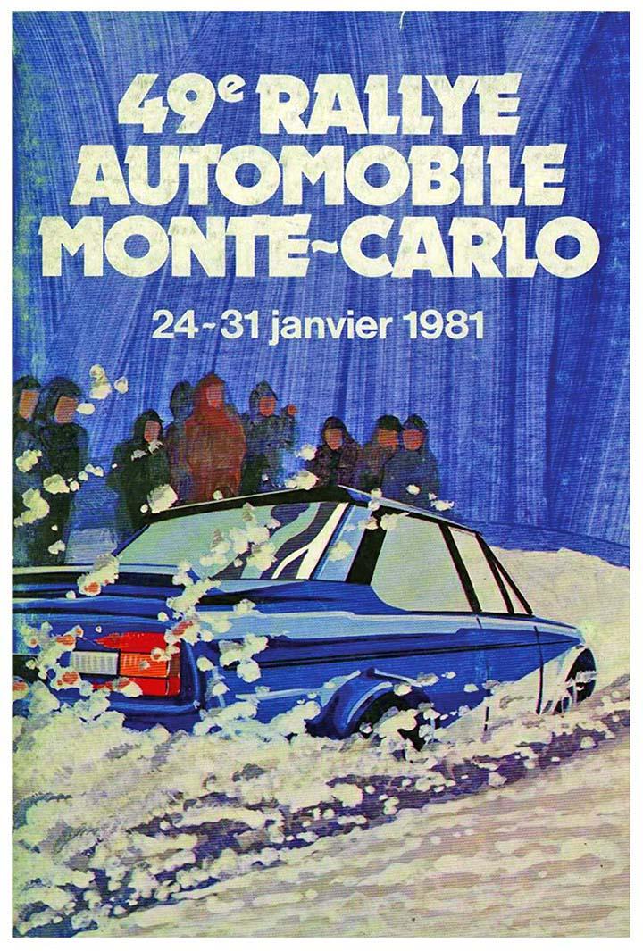 RALLYE MONTE-CARLO 1981