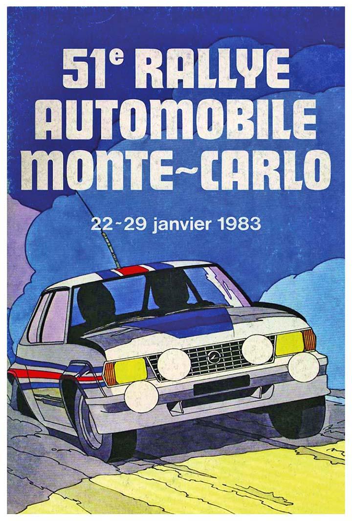 RALLYE MONTE-CARLO 1983