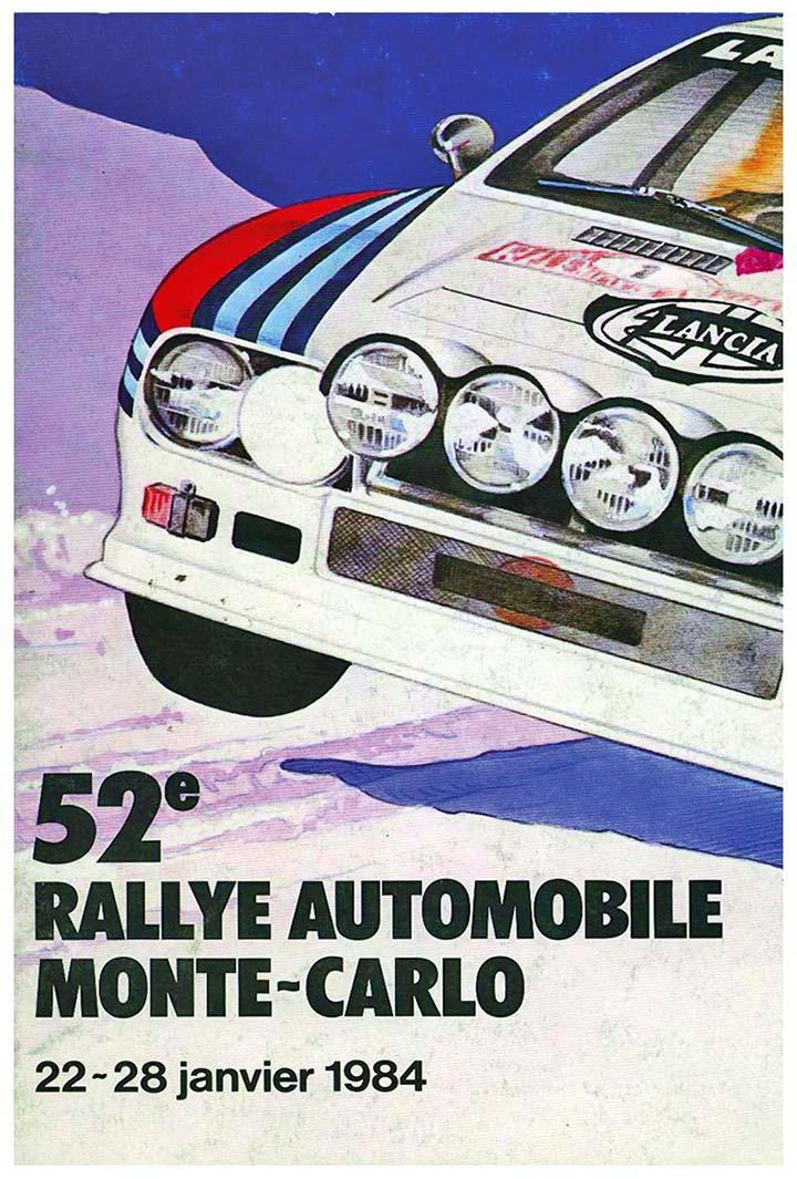 RALLYE MONTE-CARLO 1984