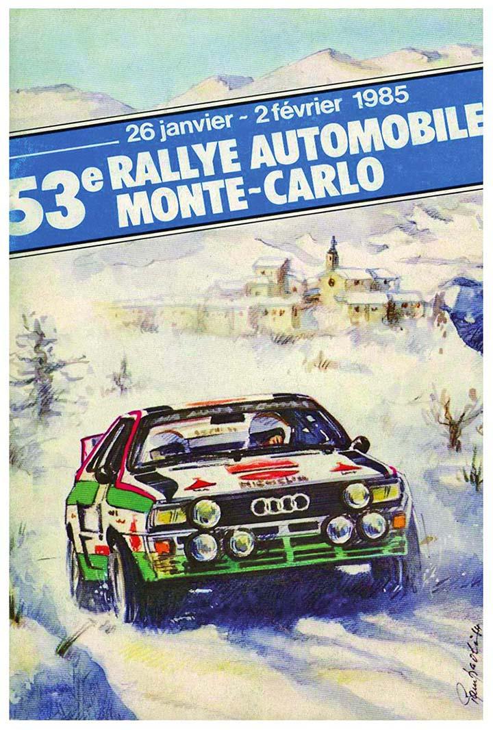 RALLYE MONTE-CARLO 1985