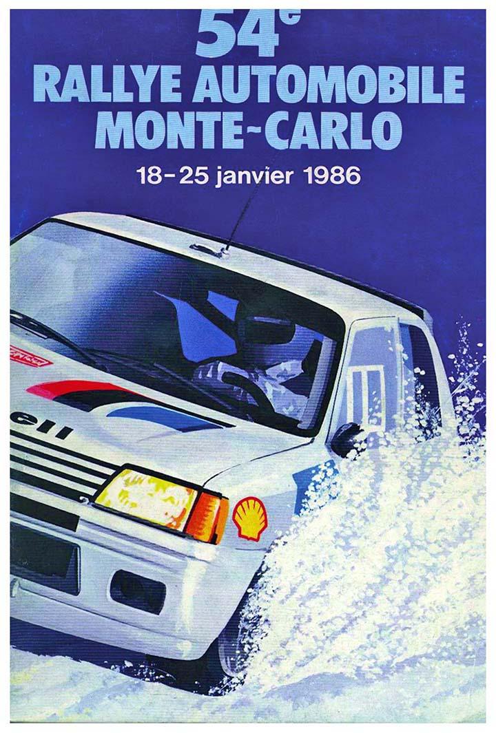 RALLYE MONTE-CARLO 1986