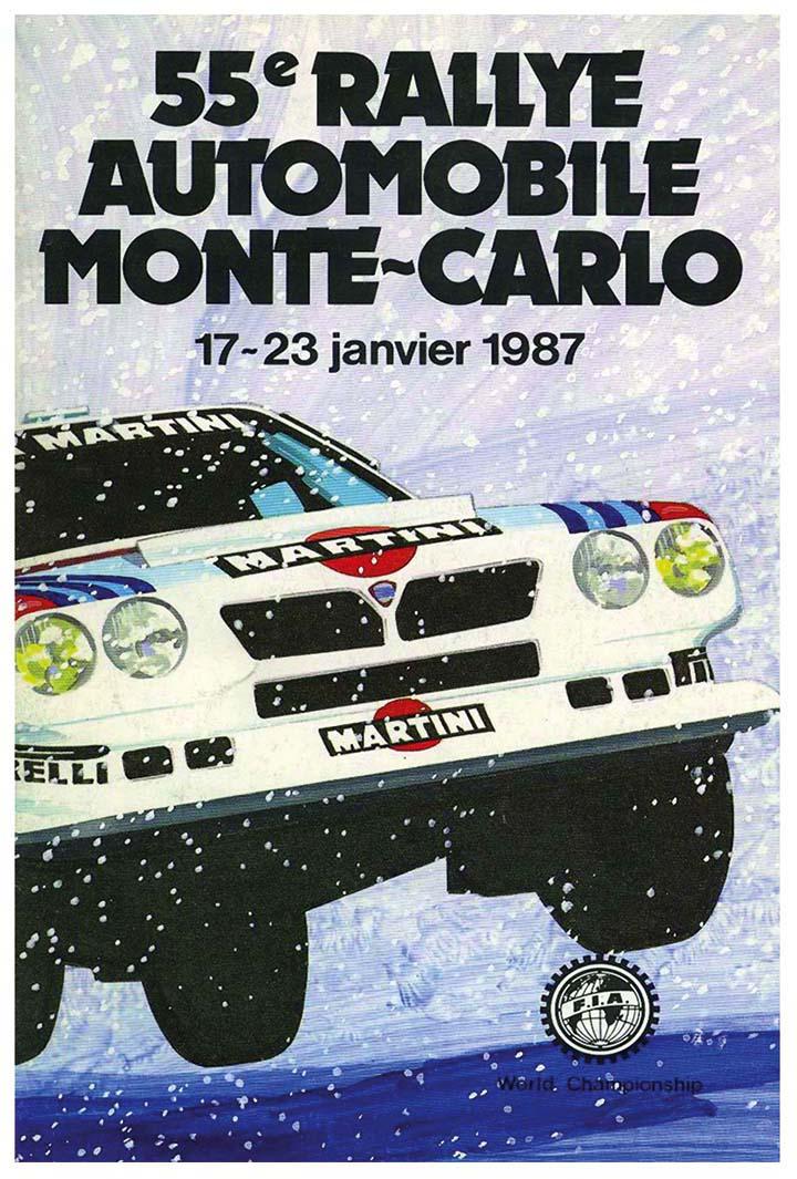 RALLYE MONTE-CARLO 1987