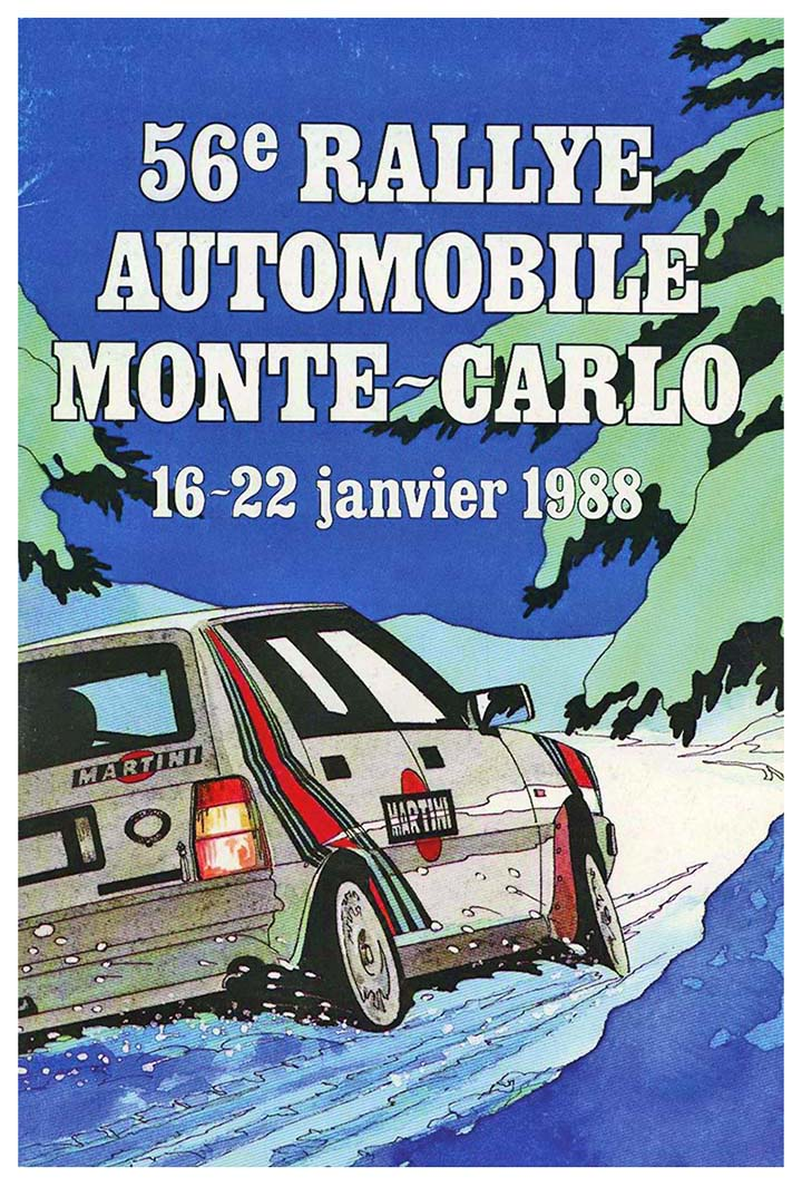 RALLYE MONTE-CARLO 1988