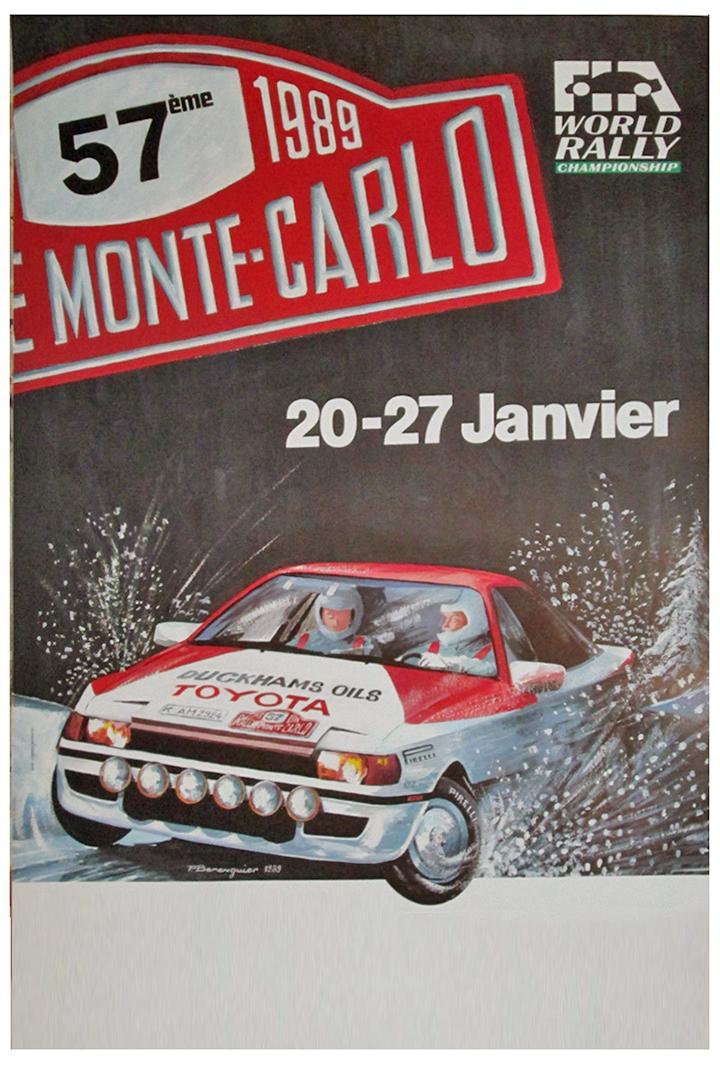 RALLYE MONTE-CARLO 1989