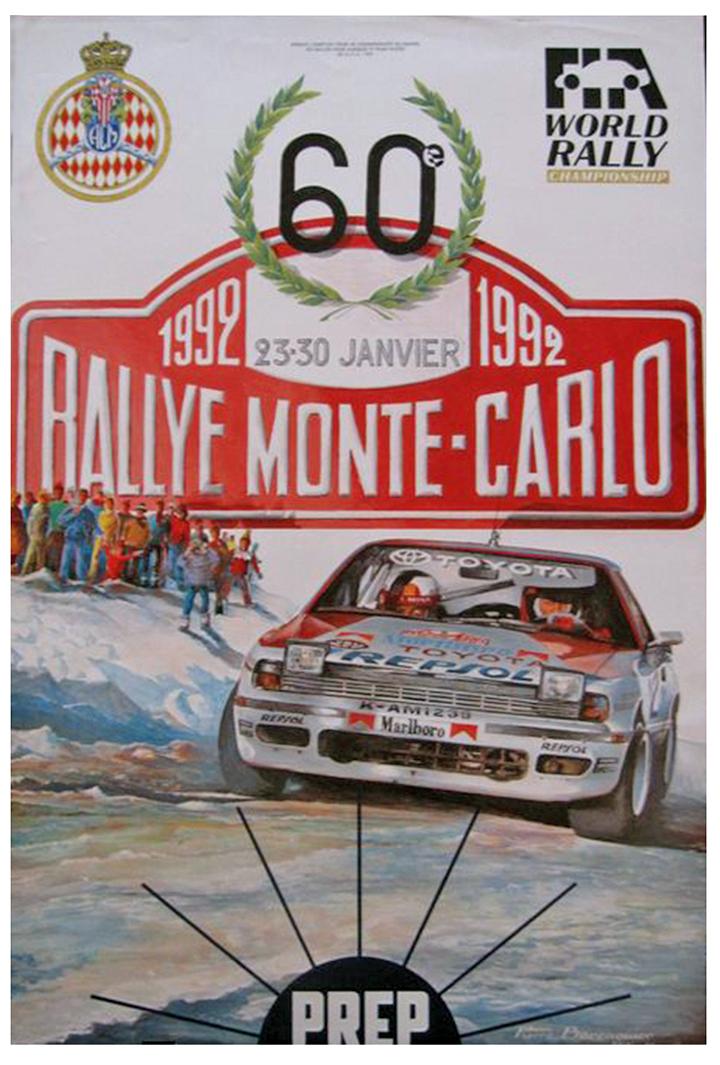 RALLYE MONTE-CARLO 1992