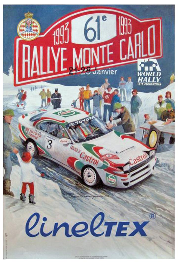 RALLYE MONTE-CARLO 1993