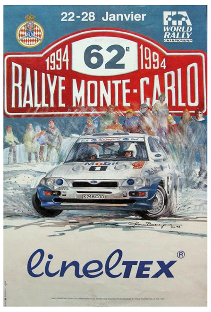 RALLYE MONTE-CARLO 1994