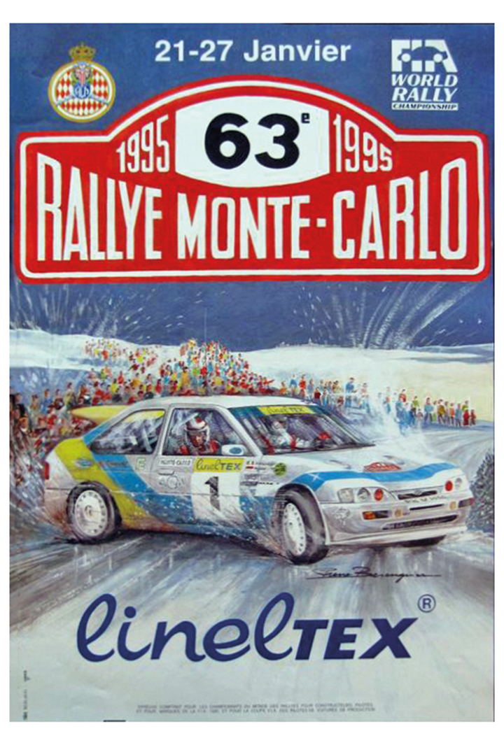 RALLYE MONTE-CARLO 1995