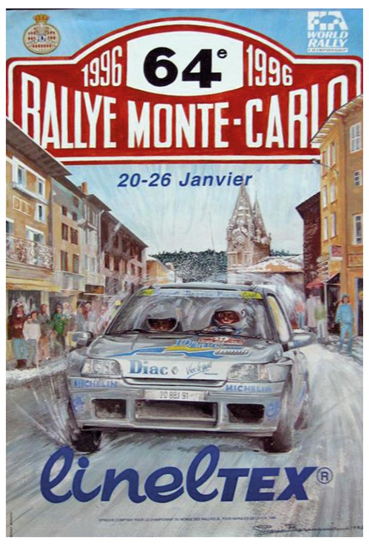 RALLYE MONTE-CARLO 1996