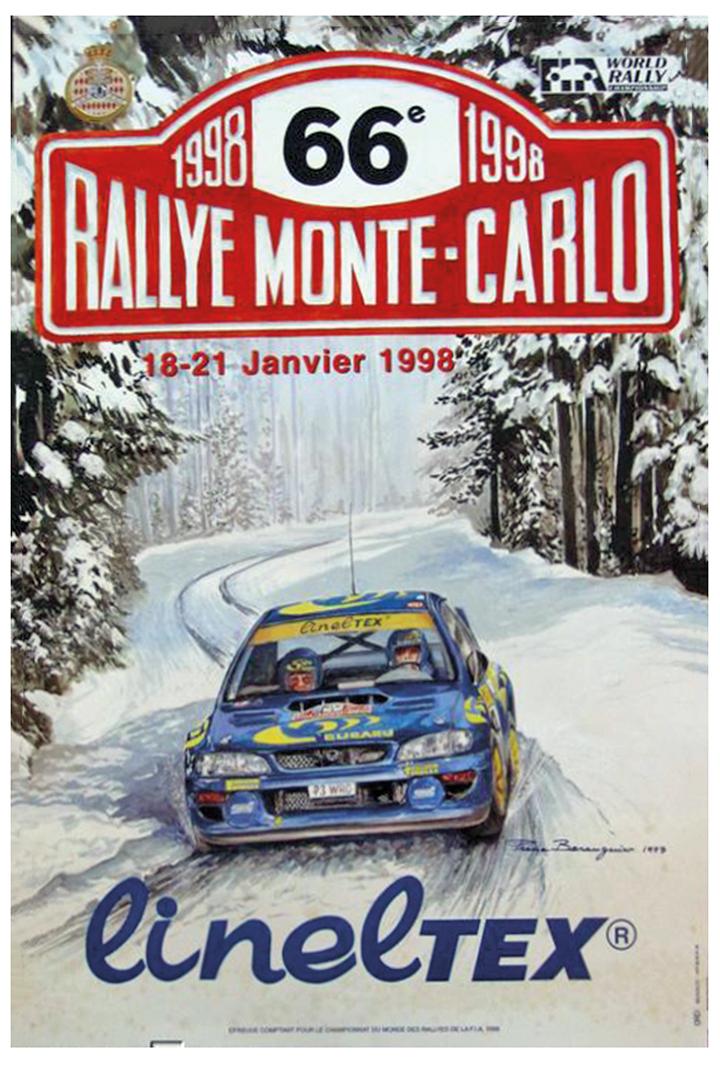 RALLYE MONTE-CARLO 1998