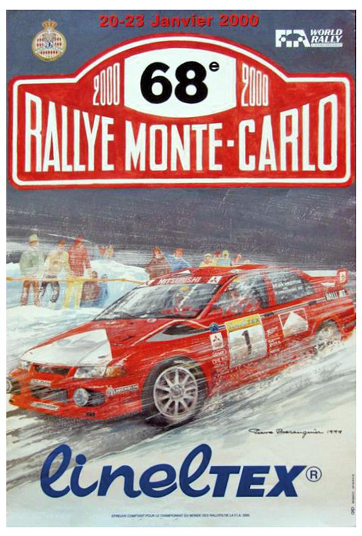 RALLYE MONTE-CARLO 2000