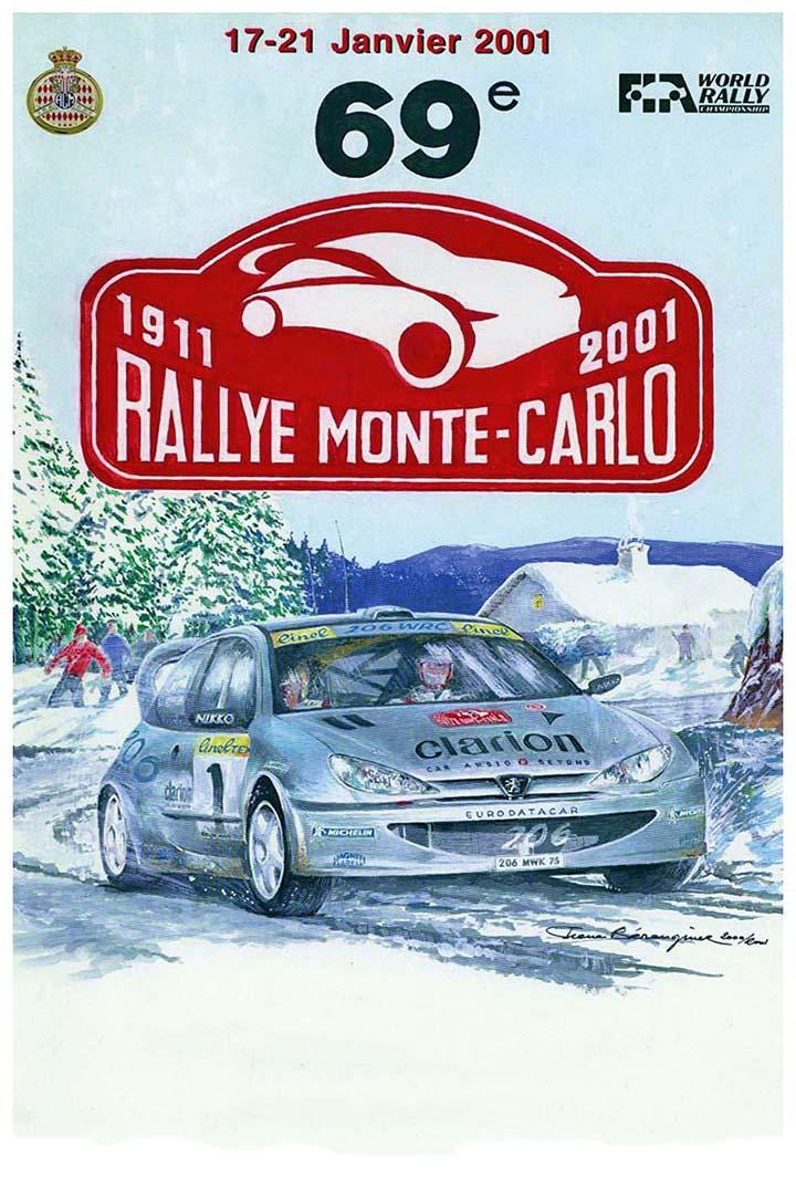 RALLYE MONTE-CARLO 2001