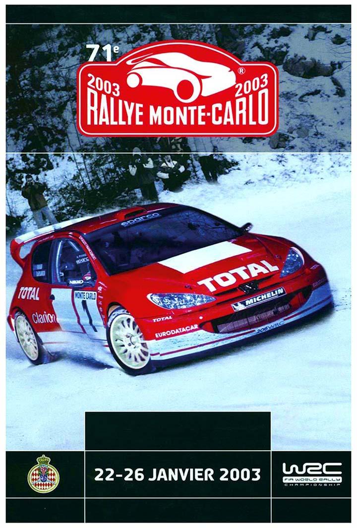 RALLYE MONTE-CARLO 2003