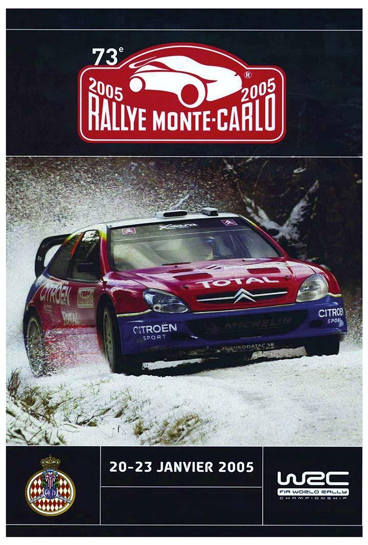 RALLYE MONTE-CARLO 2005