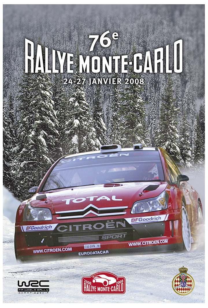 RALLYE MONTE-CARLO 2008