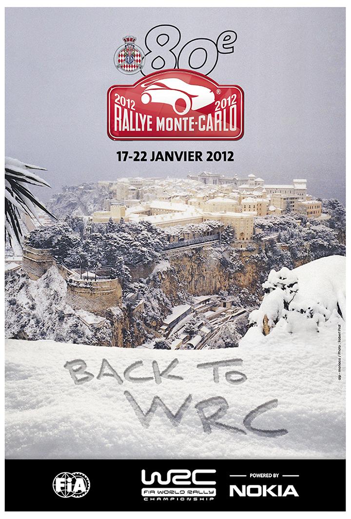 RALLYE MONTE-CARLO 2012