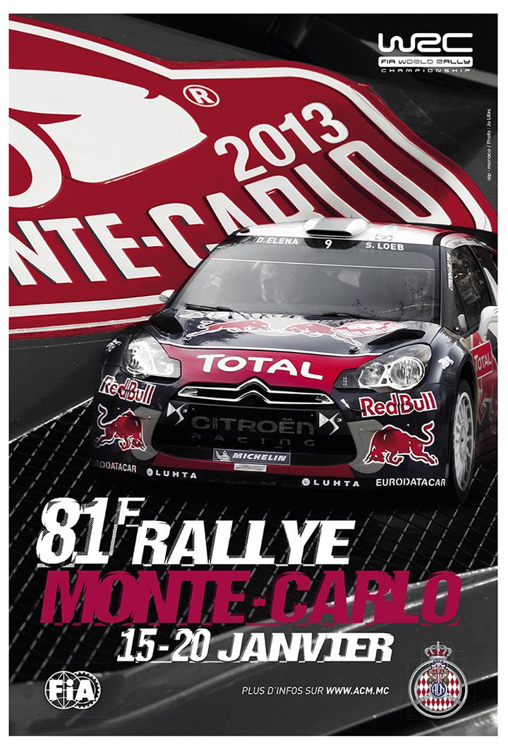 RALLYE MONTE-CARLO 2013