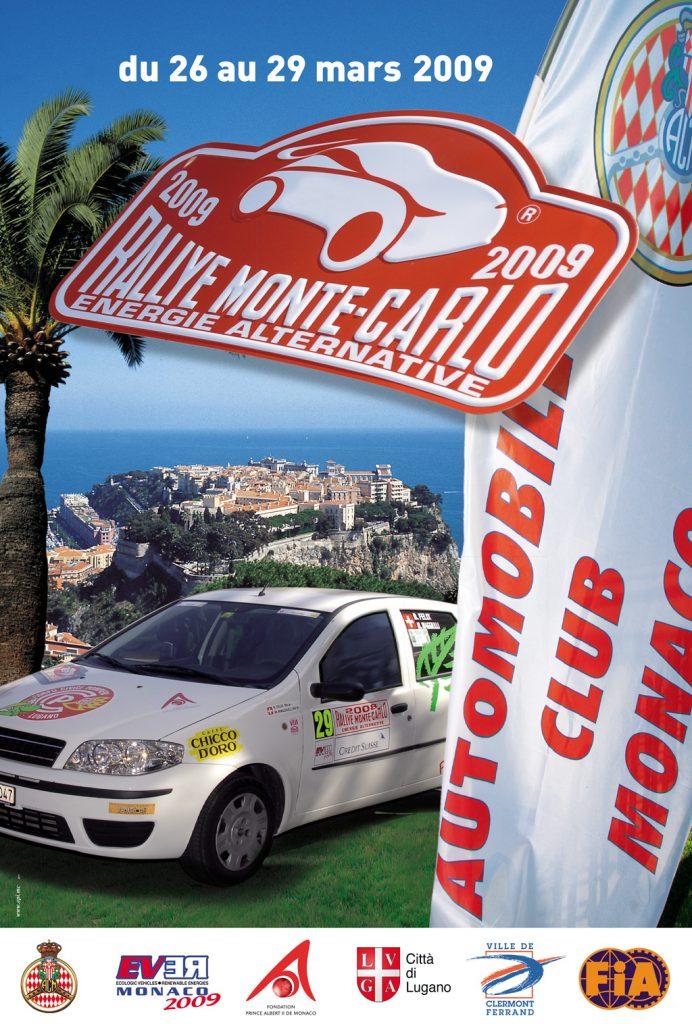 Affiche e-Rallye 2009