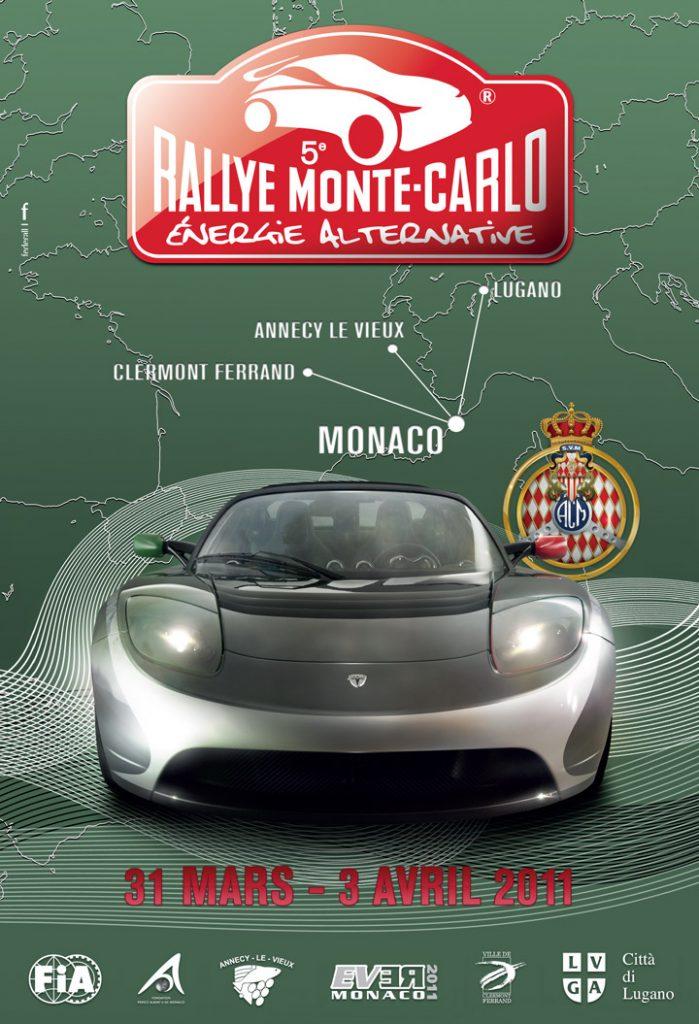 Affiche e-Rallye 2011
