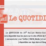 RMCH 2017: Le Quotidien #1