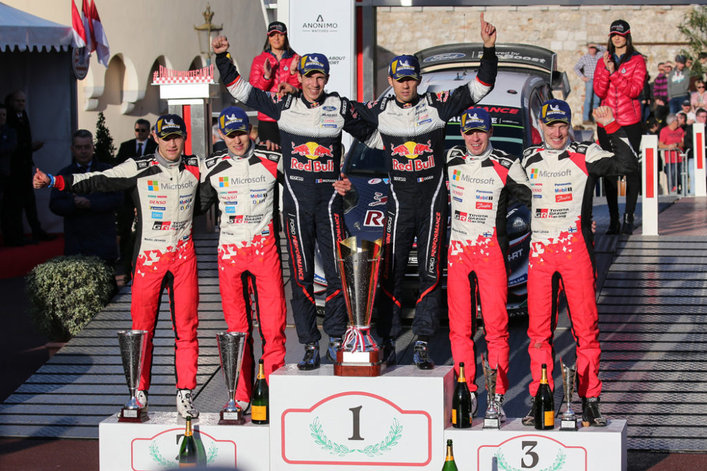 ogier-s-ingrassia-j-(fra)-ford-fiesta-RS-WRC-n°1-portrait-podium-1er-tanak-2-latvala-3-RMC-2018-(JL)-50