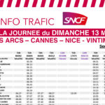 Infos grèves SNCF