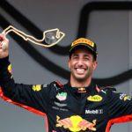 Daniel Ricciardo, winner!