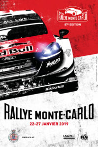 affiche Rallye Monte-Carlo 2019
