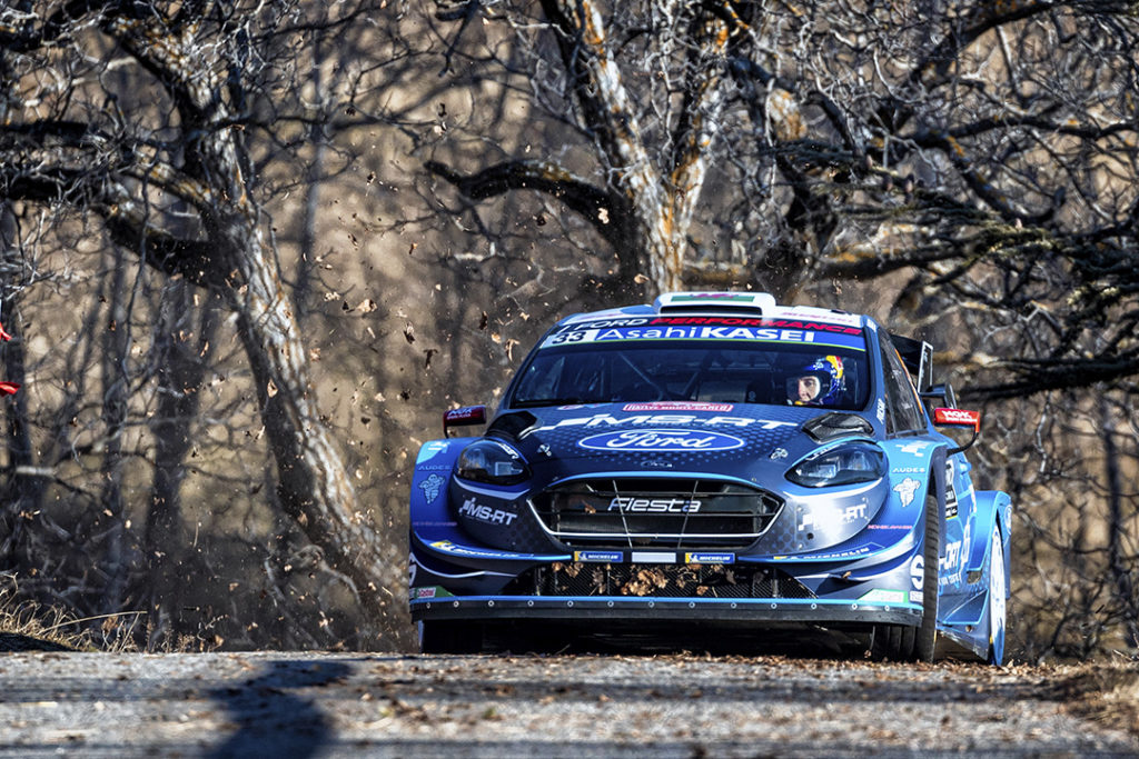 evans e barrit d (gbr) ford fiesta RS WRC n°33 RMC 2019 (OC)-002