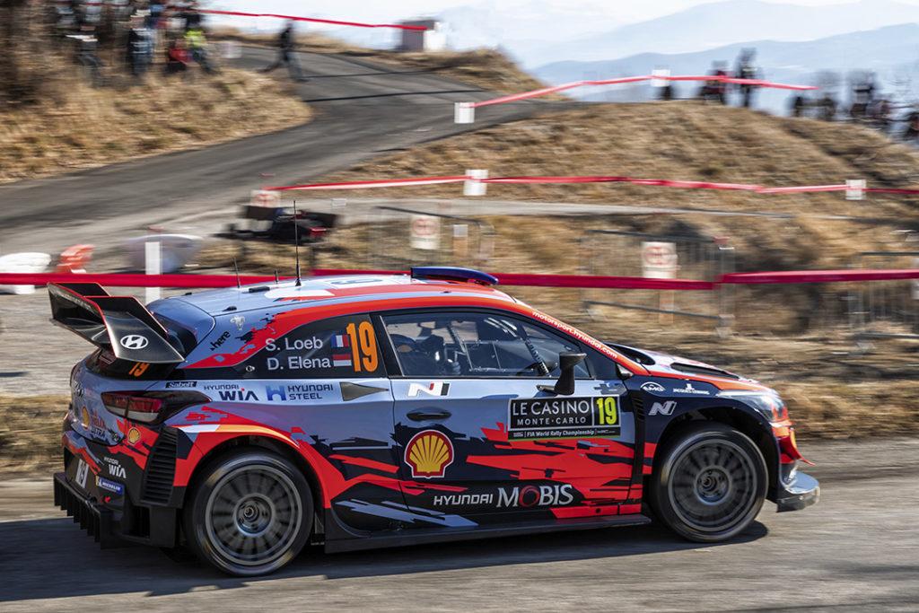 loeb s elena d (fra-mco) hyundai I20 WRC n°19 RMC 2019 (OC)-004