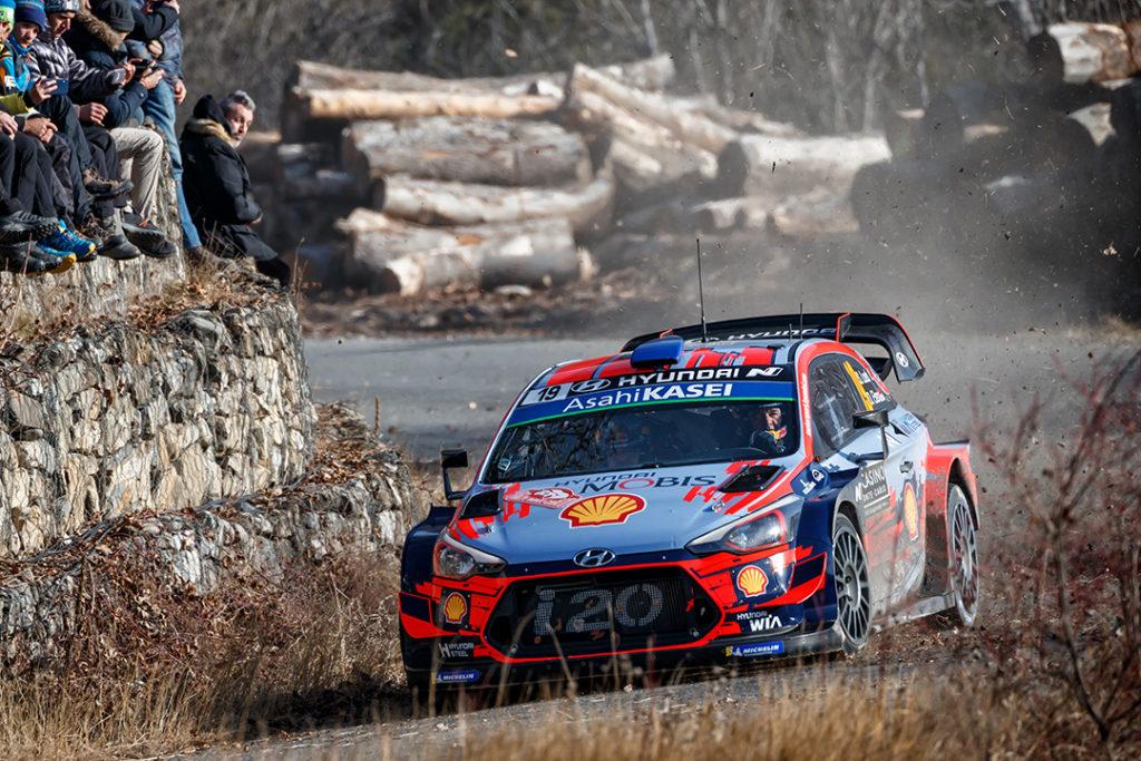 loeb s elena d (fra-mco) hyundai I20 WRC n°19 RMC 2019 (OC)-011
