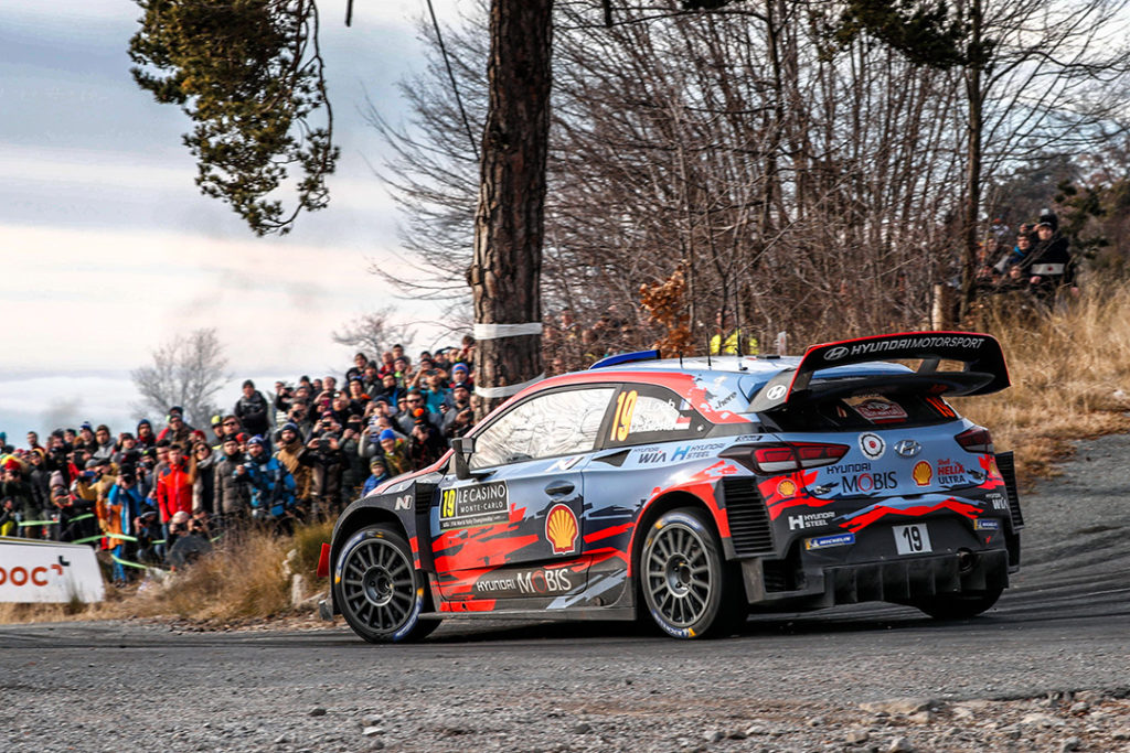 loeb s elena d (fra-mco) hyundai I20 WRC n°19 RMC 2019 (OC)-016