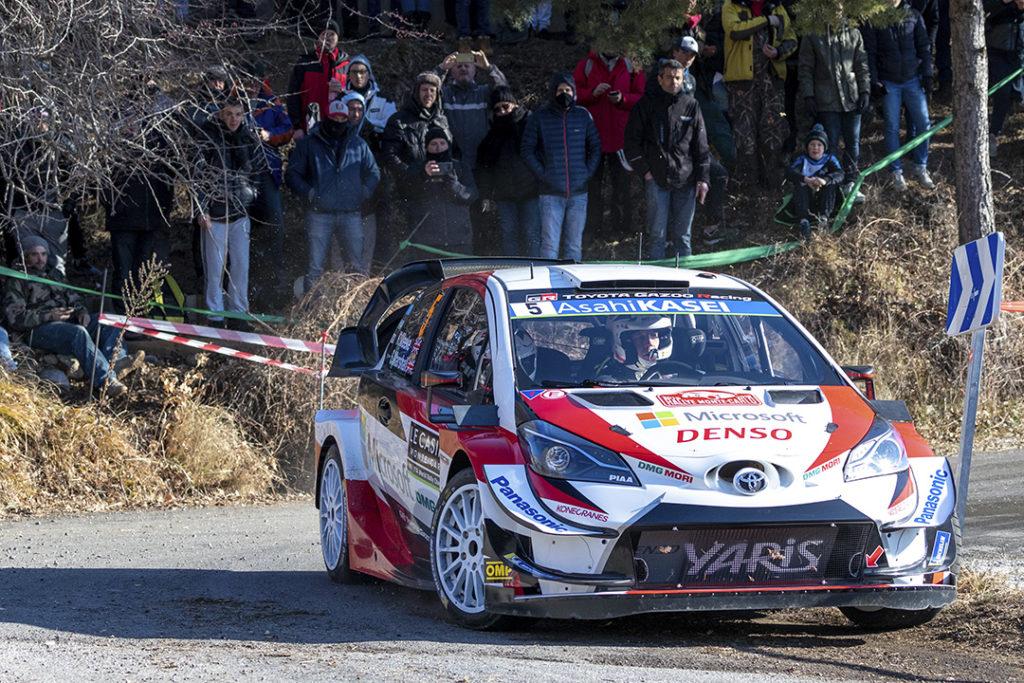 meeke k marshall s (gbr-irl) toyota yaris WRC n°5 RMC 2019 (OC)-002