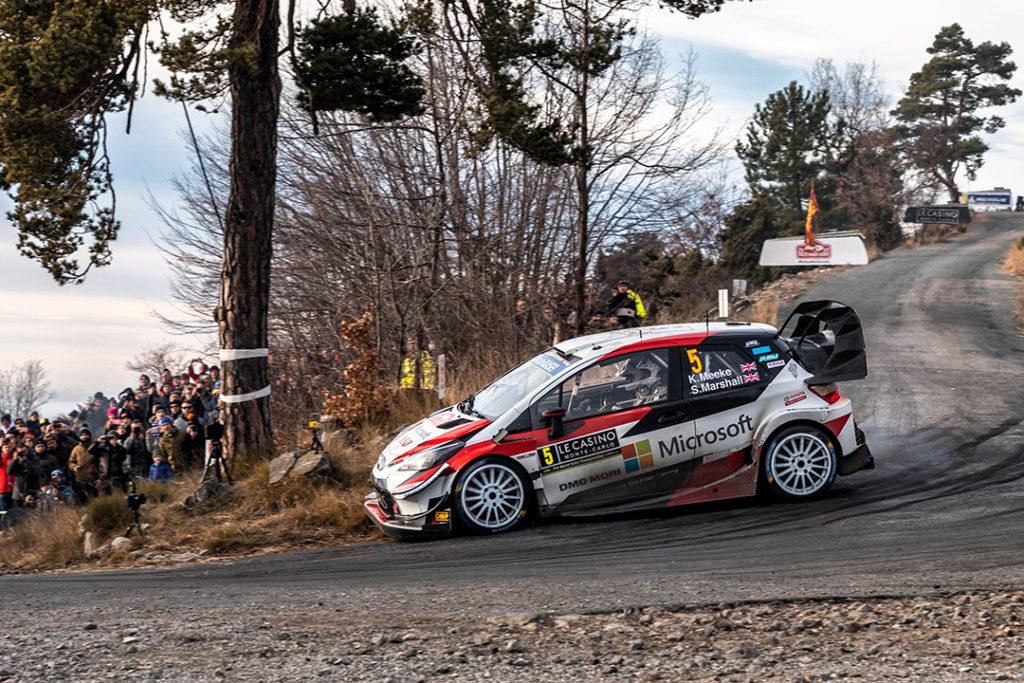 meeke k marshall s (gbr-irl) toyota yaris WRC n°5 RMC 2019 (OC)-014
