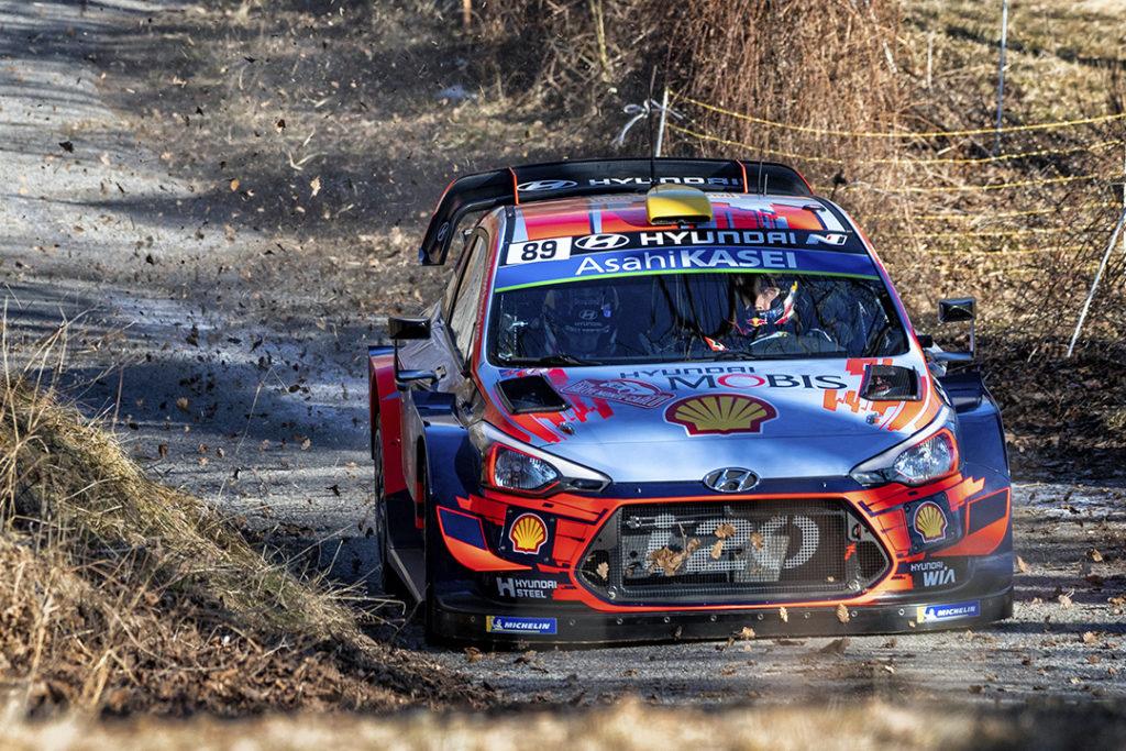 mikkelsen a jaeger a (nor) hyundai I20 C WRC n°89 RMC 2018 (OC)-001
