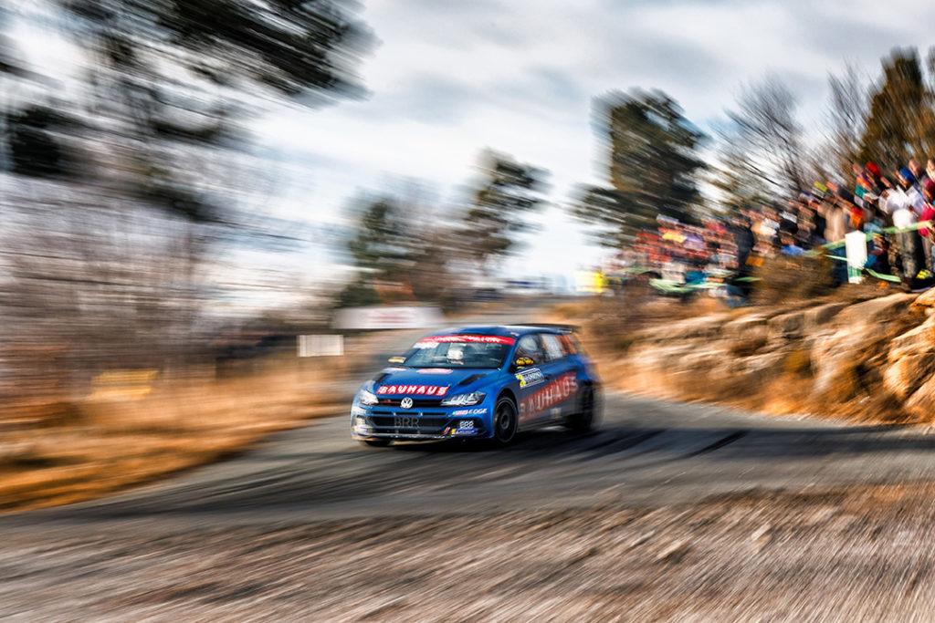 veiby oc andersson j (nor-swe) VW polo R5 WRC2 n°23 RMC 2019 (OC)-002
