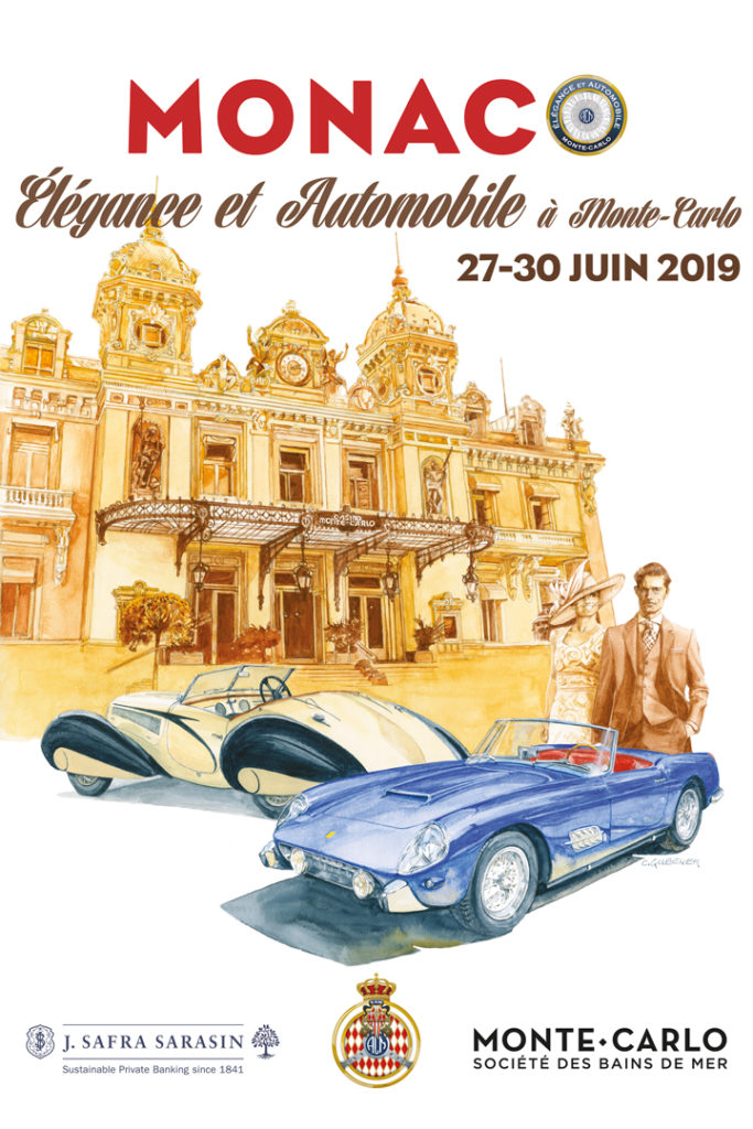 Affiche Elégance et Automobile 2019