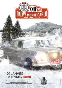 affiche Rallye Monte-Carlo Historique 2020
