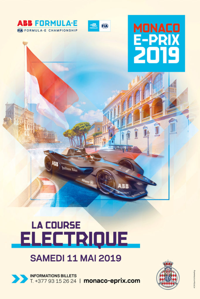 Affiche Monaco ePrix 2019