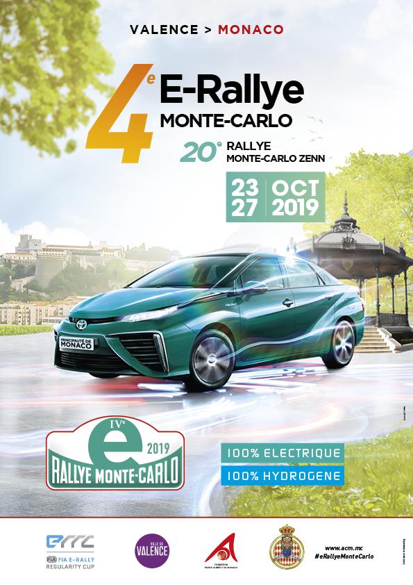 Affiche E-Rally 2019