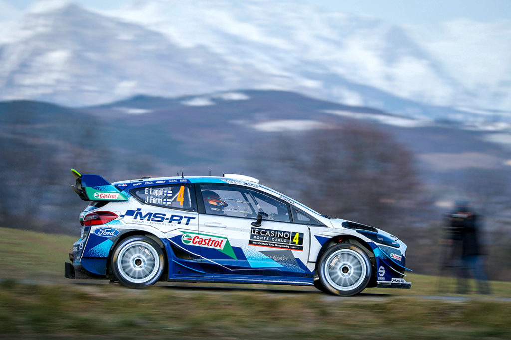lappi e ferm j (fin) ford fiesta WRC n°4 2020 RMC (acm-OC)-05A