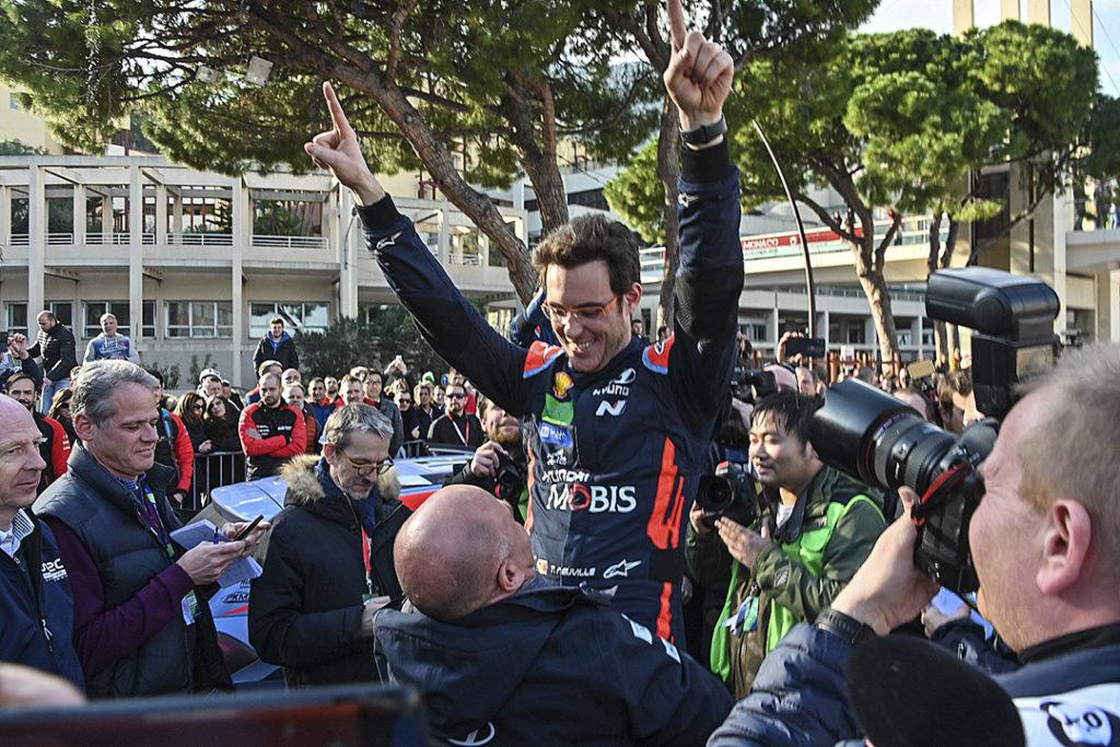 neuville t gilsoul n (bel) hyundai I20 C WRC n°11 portrait 1er podium RMC 2020 scd-jolillini-(JL)-29